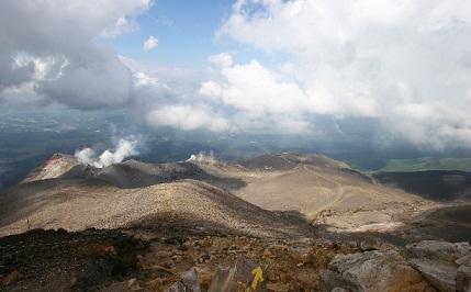 十勝岳風景